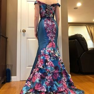 Ellie Wilde Two-Piece Prom Dress